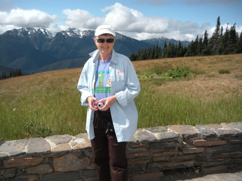 Alice at Hurricane Ridge